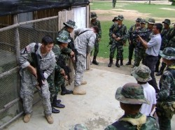 Washington soldiers train with Thai military in counter-insurgency exchange