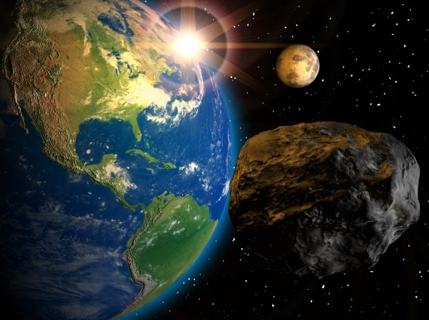 Meteorite and the Earth