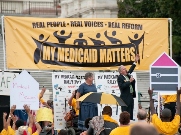 """""""My Medicaid Matters"""" rally on Capitol Hill"""