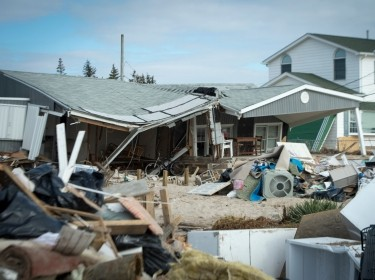 houses destroyed by Hurricane Sandy