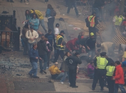 Boston Marathon bombing - first responders