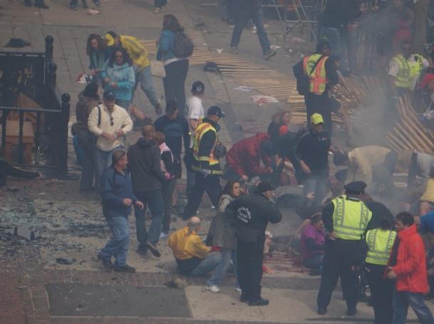 Boston Marathon bombing - first responders