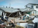 damage in the wake of Hurricane Sandy