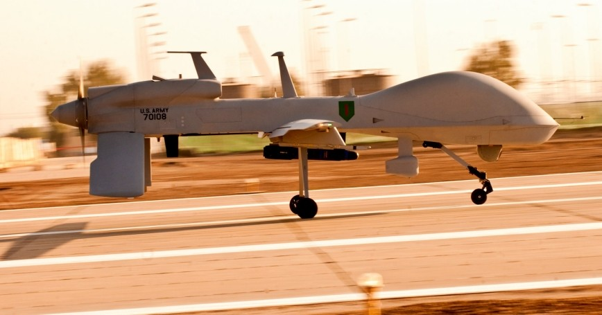 An MQ-1C Gray Eagle unmanned aircraft