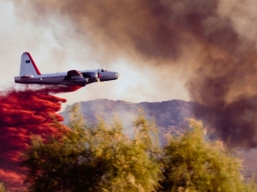 Wildfire air tanker