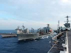 U.S. Navy patrolling the Western Pacific