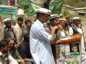 A public meeting of the All Pakistan Muslim League (APML) held in Chitral