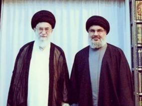 Khamenei with Nasrallah