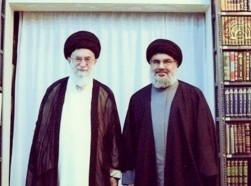 Khamenei with Nasrallah