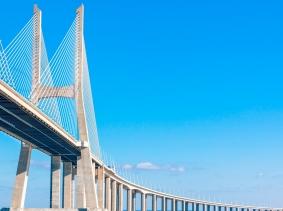 Vasco de Gama Bridge, Lisbon