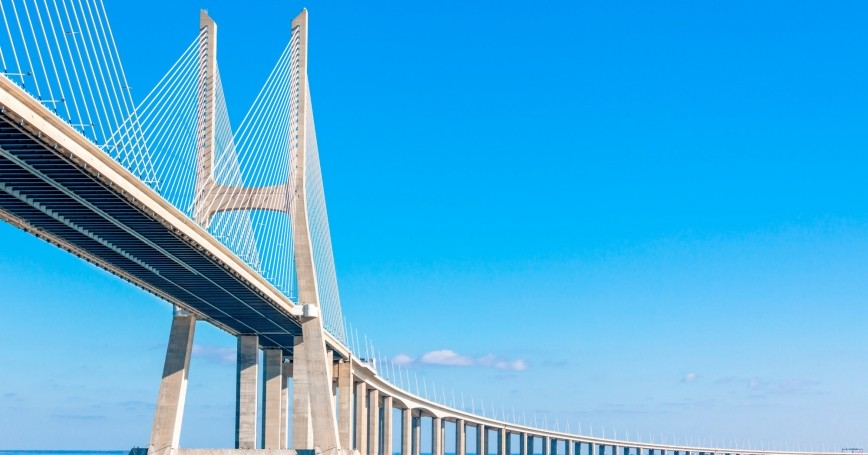 Vasco de Gama Bridge, Lisbon