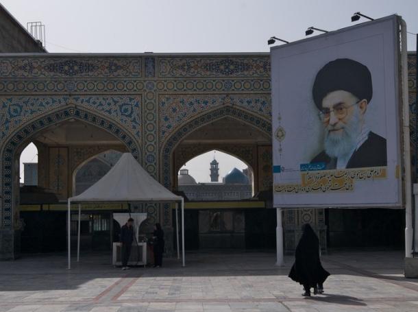 the Shrine of the Tomb of Imam Reza