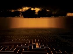 nuclear war game maze