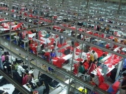 Garments factory in Bangladesh