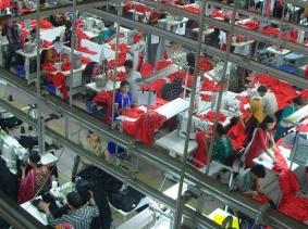Garments factory in Bangladesh