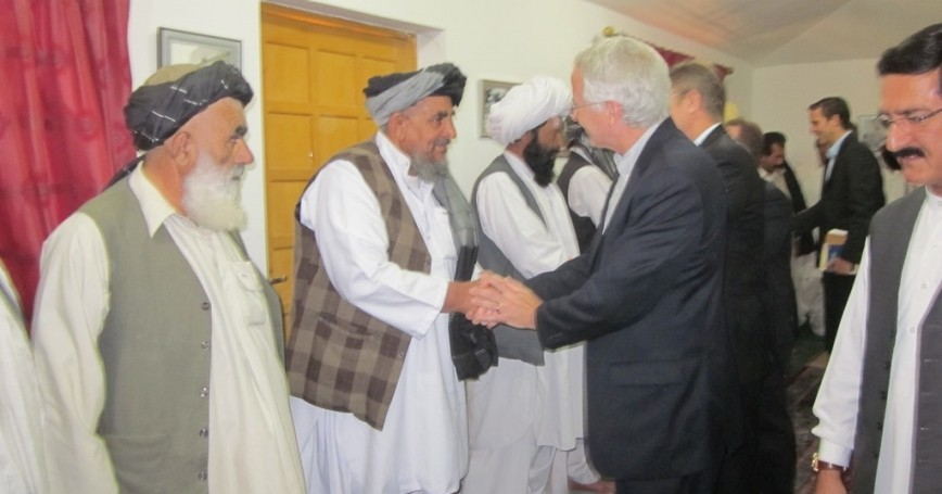 Ambassador Munter Attends Pashtun Tribal Jirga in Quetta in 2011