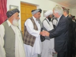 Ambassador Munter Attends Pashtun Tribal Jirga in Quetta in 2011