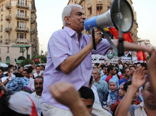 anti-Morsi protest in downtown Cairo