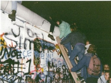 The fall of the Berlin Wall - November 1989