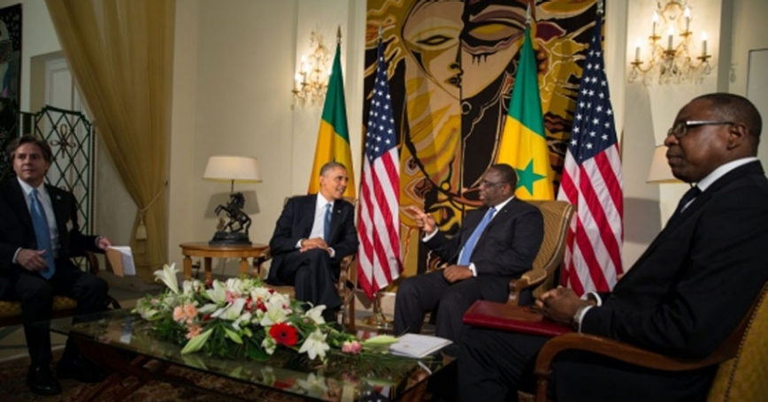 President Barack Obama and President Macky Sall of Senegal