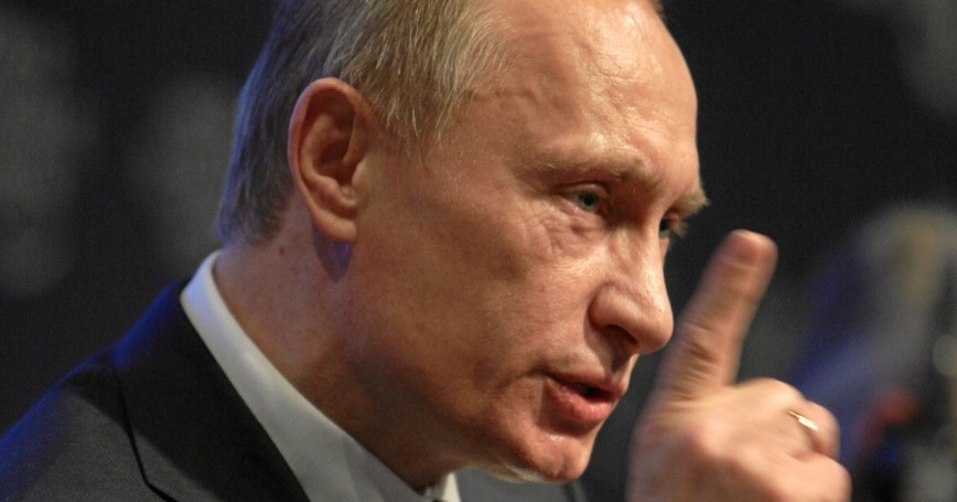 Vladimir Putin at World Economic Forum Annual Meeting Davos 2009