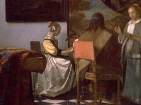 "Vermeer's ""The Concert"" was one of the 13 works stolen from the Isabella Stewart Gardner Museum"
