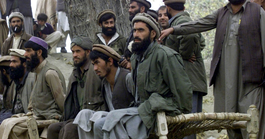 Afghan al Qaeda members captured in Decemeber 2001