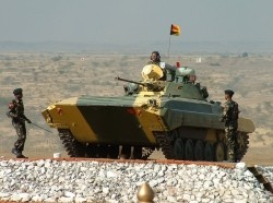 Indian Army BMP-2 IFV combat vehicle