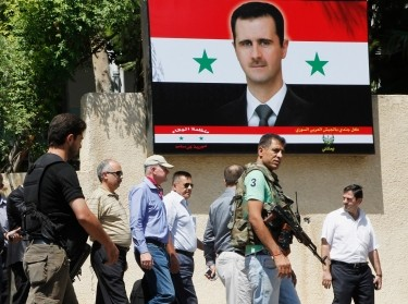 U.N. chemical weapons investigation team in Damascus