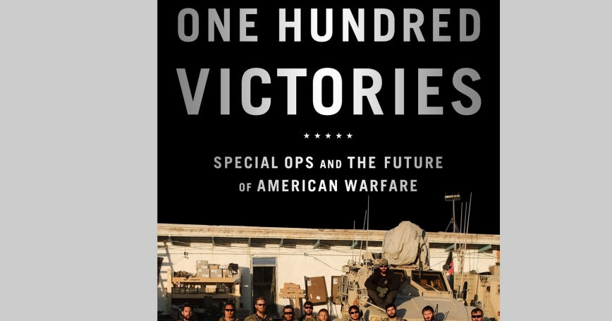 Cover of Linda Robinson's book One Hundred Victories
