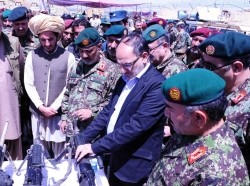 The opening of the 1st Afghan National Army Special Operations Brigade, Aug. 20, 2013