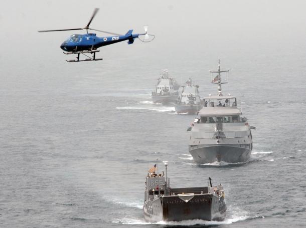 maritime training in the Gulf of Guinea