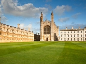 King's College campus, Cambridge, England