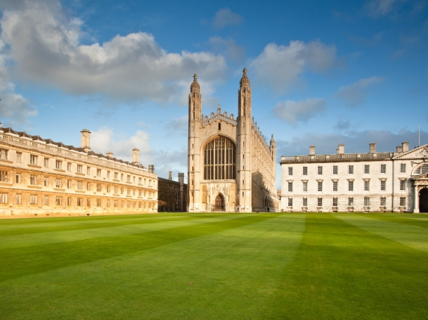 King's College campus, Cambridge, England