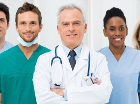 a team of medical professionals