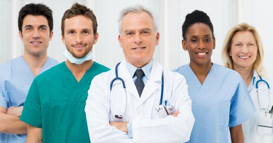 a team of medical professionals