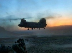 a security forces operation in Logar province, Afghanistan