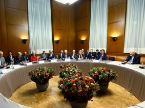 Nuclear talks at the United Nations European headquarters in Geneva November 20, 2013