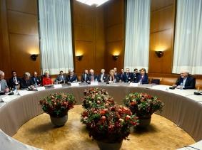 Nuclear talks at the United Nations European headquarters in Geneva November 20, 2013