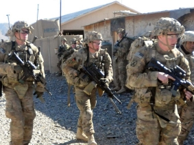 Soldiers in Paktika Province on Dec. 26, 2013