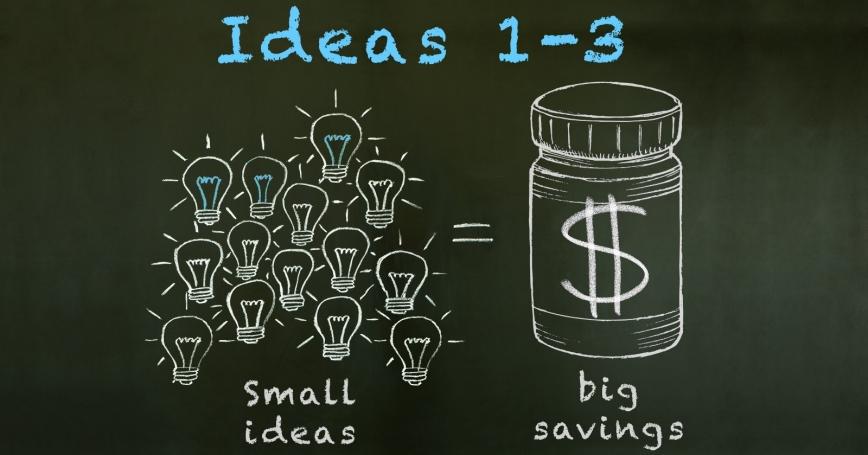 small ideas 1-3