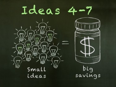 Small ideas lead to big health savings: Ideas 4-7
