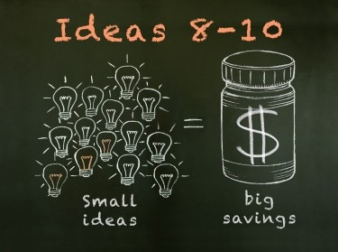 Small ideas lead to big health savings: Ideas 8-10