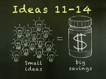 Small ideas lead to big health savings: Ideas 11-14