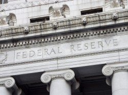 The facade of the Federal Reserve Bank