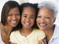 mother, daughter, granddaughter
