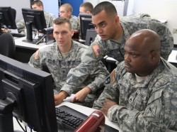 DPU Soldiers conduct cyber defense exercise