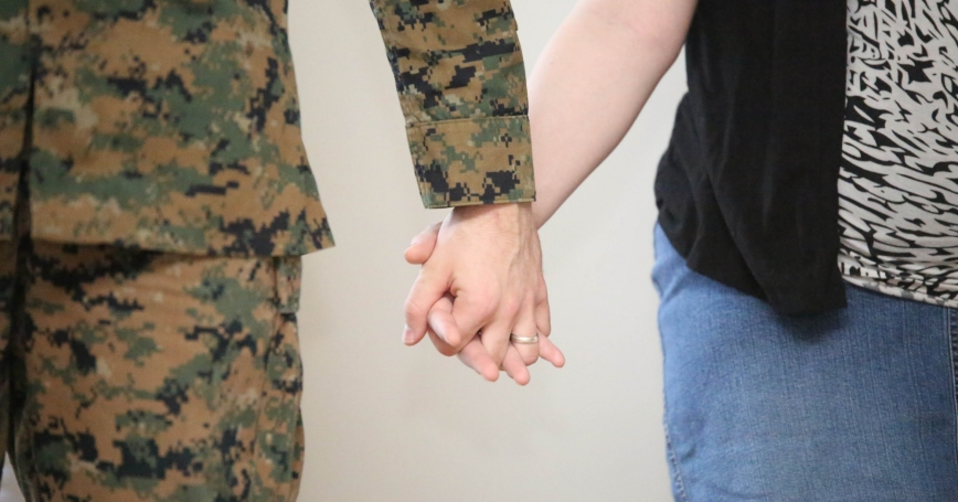 Marine Corps Base Quantico hosts a spouse appreciation event every month at the Clubs at Quantico
