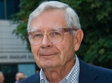 Philantropist John M. Cazier