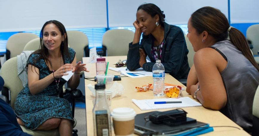 The Pardee RAND Graduate School held its second summer faculty workshop in Santa Monica, Calif. in July 2014